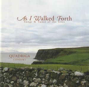 Cover - Turlough O'Carolan: As I Walked Forth - Songs & Tunes Of The Isles