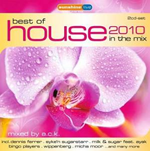 Cover - Greg Parys: Best Of House 2010 In The Mix