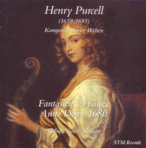 Cover - Henry Purcell: Fantasien & Tänze Anno Dom. 1680