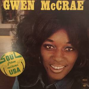 Gwen McCrae: Soul From Miami USA - Cover