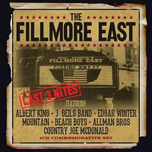 Cover - Country Joe McDonald: Fillmore East Last 3 Nites, The