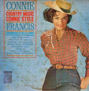 Cover - Connie Francis: Country Music Connie Style