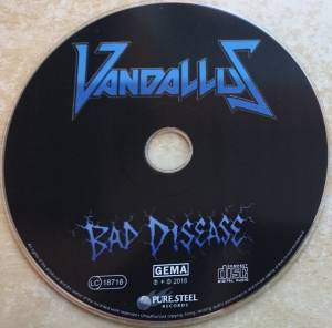 Vandallus: Bad Disease (CD) - Bild 4
