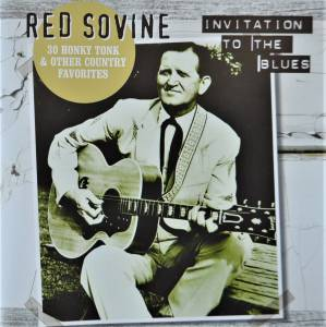 Cover - Red Sovine: Invitation To The Blues