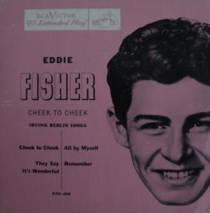 Eddie Fisher: Cheek To Cheek - Cover