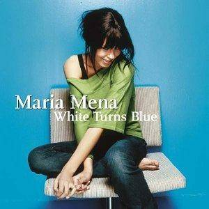 Maria Mena: White Turns Blue - Cover