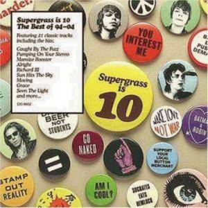 Supergrass: Supergrass Is 10. The Best Of 94-04 - Cover