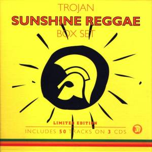 Cover - Domino Johnson: Trojan Sunshine Reggae Box Set