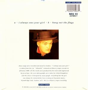 "Everything But The Girl: I Always Was Your Girl (7"") - Bild 2"