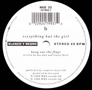 "Everything But The Girl: I Always Was Your Girl (7"") - Bild 3"