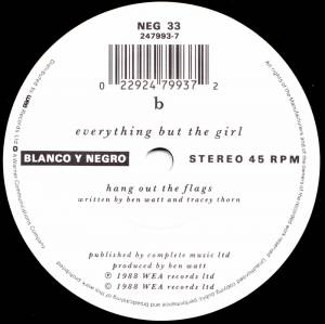 "Everything But The Girl: I Always Was Your Girl (7"") - Bild 4"