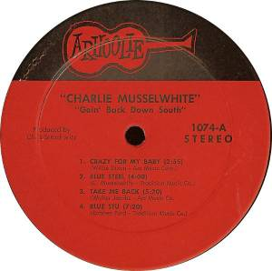 Charlie Musselwhite: Goin' Back Down South (LP) - Bild 3