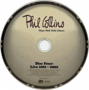Phil Collins ‎– Plays Well With Others (4-CD) - Bild 6