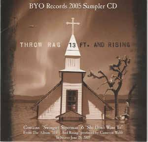 Cover - Throw Rag: Byo Records 2005 Spring Sampler