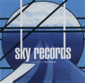 Cover - Günter Schickert: Kollektion01: Sky Records Compiled By Tim Gane