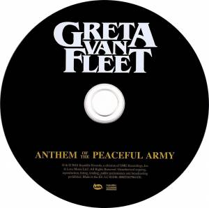 Greta Van Fleet: Anthem Of The Peaceful Army (CD) - Bild 3