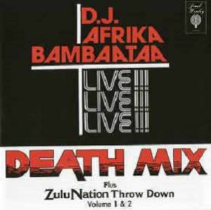 Cover - Afrika Bambaataa: Death Mix