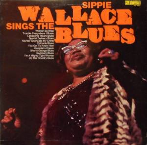 Cover - Sippie Wallace: Sings The Blues