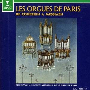 Cover - Gaston Litaize: Les Orgues De Paris De Couperin A Messiaen