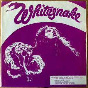 Cover - Whitesnake: Celebration Of Apathy, A