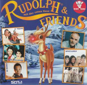 Cover - Kathy Kelly & Bubbles: Rudolph & Friends