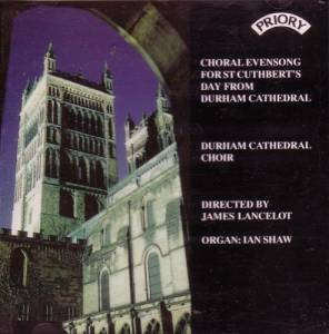 Cover - Henri Mulet: Evensong For St Cuthbert's Day From Durham Cathedral