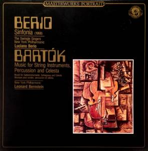 Cover - Luciano Berio: Sinfonia (1968) / Music For String Instruments, Percussion And Celesta