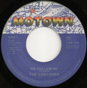 Cover - Contours, The: Do You Love Me / Shake, Sherrie