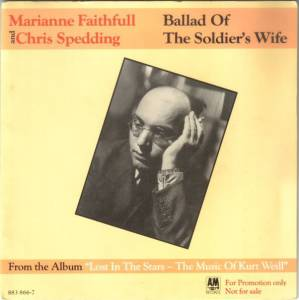 Cover - Marianne Faithfull & Chris Spedding: Ballad Of The Soldier's Wife