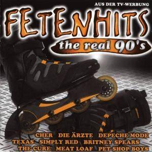 Fetenhits - The Real 90's - Cover