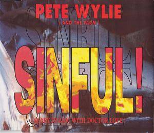 Cover - Pete Wylie: Sinful!