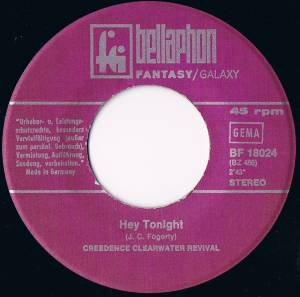 "Creedence Clearwater Revival: Have You Ever Seen The Rain / Hey Tonight (7"") - Bild 4"