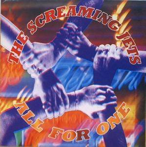 Cover - Screaming Jets, The: All For One