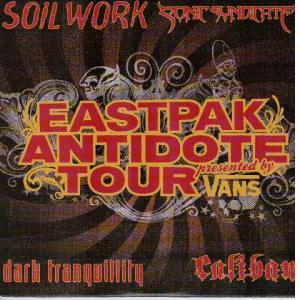 Eastpak Antidote Tour - Cover