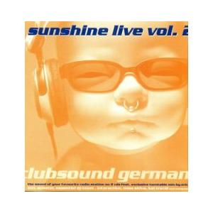 Sunshine Live Vol. 2 - Cover