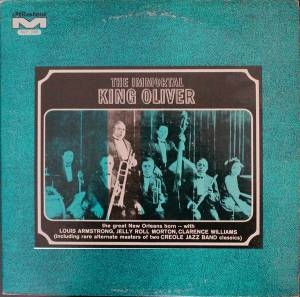 Cover - King Oliver's Creole Jazz Band: Immortal King Oliver, The
