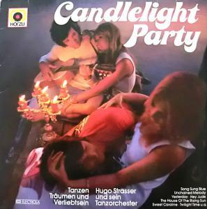 Hugo Strasser: Candlelight Party - Cover