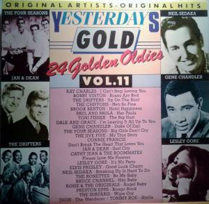 Cover - Toni Fisher: Yesterdays Gold Vol.11 - 24 Golden Oldies