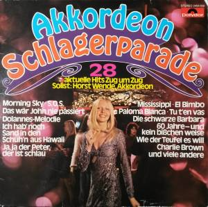 Cover - Horst Wende: Akkordeon Schlagerparade