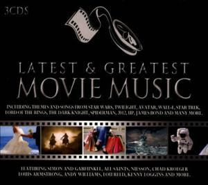 Latest & Greatest Movie Music - Cover