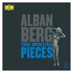Alban Berg: Three Orchestral Pieces - Cover