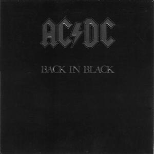 AC/DC: Back In Black - Cover