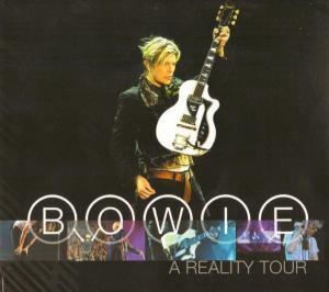 David Bowie: Reality Tour, A - Cover