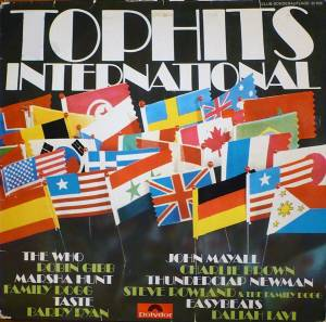 Cover - Charlie Brown: Tophits International