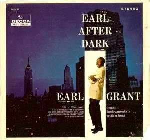 Cover - Earl Grant: Earl After Dark
