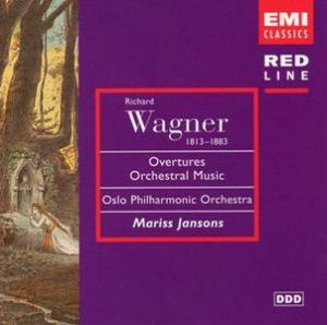 Richard Wagner: Overtures Orchestral Music - Cover