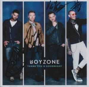 Cover - Boyzone: Thank You & Goodnight