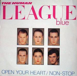 The Human League: Open Your Heart - Cover