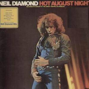 Neil Diamond: Hot August Night - Cover