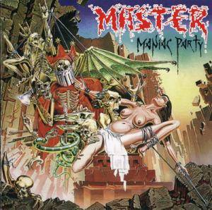 Master: Maniac Party - Cover